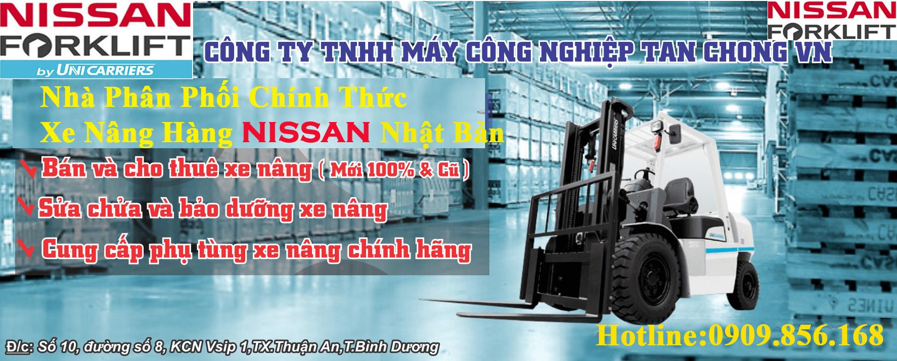 xe nâng hàng Nissan Unicarriers - Nhà phân phối xe nâng chất lượng hàng đầu tại Việt Nam
