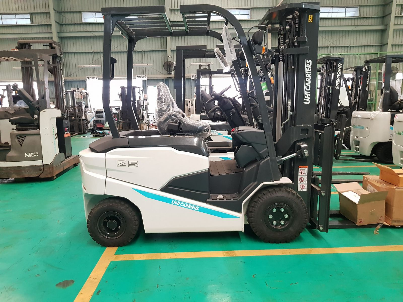 XE NÂNG ĐIỆN NGỒI LÁI BX2 SERIERS (1.5-3.5) TẤN, Giá bán xe nâng Điện 1,5 tấn, 2,5 tấn sản xuất 2021